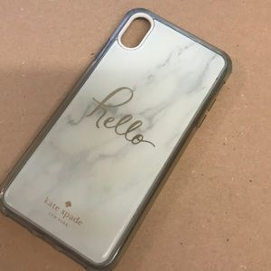 Kate Spade ♠️ phone case for iPhone XR